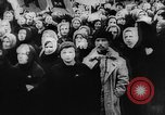 Image of massed crowd parading Moscow Russia Soviet Union, 1924, second 34 stock footage video 65675052607