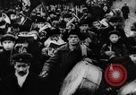 Image of massed crowd parading Moscow Russia Soviet Union, 1924, second 37 stock footage video 65675052607