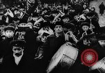 Image of massed crowd parading Moscow Russia Soviet Union, 1924, second 38 stock footage video 65675052607