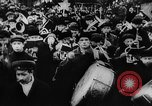 Image of massed crowd parading Moscow Russia Soviet Union, 1924, second 40 stock footage video 65675052607