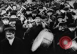 Image of massed crowd parading Moscow Russia Soviet Union, 1924, second 41 stock footage video 65675052607
