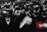 Image of massed crowd parading Moscow Russia Soviet Union, 1924, second 42 stock footage video 65675052607