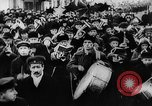 Image of massed crowd parading Moscow Russia Soviet Union, 1924, second 45 stock footage video 65675052607