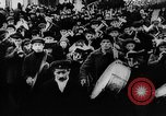Image of massed crowd parading Moscow Russia Soviet Union, 1924, second 48 stock footage video 65675052607
