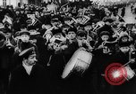 Image of massed crowd parading Moscow Russia Soviet Union, 1924, second 51 stock footage video 65675052607