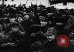 Image of massed crowd parading Moscow Russia Soviet Union, 1924, second 57 stock footage video 65675052607
