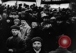 Image of massed crowd parading Moscow Russia Soviet Union, 1924, second 59 stock footage video 65675052607