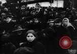 Image of massed crowd parading Moscow Russia Soviet Union, 1924, second 62 stock footage video 65675052607