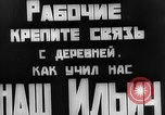 Image of Local  Leader meets with Russian villagers Russia, 1921, second 25 stock footage video 65675052608
