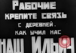Image of Local  Leader meets with Russian villagers Russia, 1921, second 26 stock footage video 65675052608