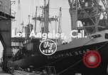 Image of Philippine Bear Ship Los Angeles California USA, 1954, second 2 stock footage video 65675052611