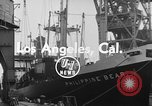 Image of Philippine Bear Ship Los Angeles California USA, 1954, second 3 stock footage video 65675052611