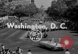 Image of American Legionnaires parade Washington DC USA, 1954, second 1 stock footage video 65675052612