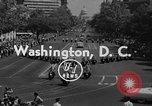 Image of American Legionnaires parade Washington DC USA, 1954, second 4 stock footage video 65675052612