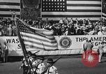 Image of American Legionnaires parade Washington DC USA, 1954, second 8 stock footage video 65675052612