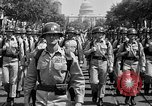 Image of American Legionnaires parade Washington DC USA, 1954, second 27 stock footage video 65675052612