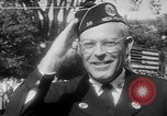 Image of American Legionnaires parade Washington DC USA, 1954, second 39 stock footage video 65675052612