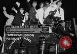 Image of American Legionnaires parade Washington DC USA, 1954, second 50 stock footage video 65675052612