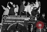 Image of American Legionnaires parade Washington DC USA, 1954, second 51 stock footage video 65675052612