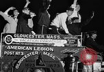 Image of American Legionnaires parade Washington DC USA, 1954, second 52 stock footage video 65675052612