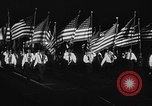 Image of American Legionnaires parade Washington DC USA, 1954, second 62 stock footage video 65675052612
