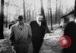 Image of President Dwight Eisenhower Gettysburg Pennsylvania USA, 1955, second 29 stock footage video 65675052618