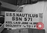 Image of USS Nautilus SSN-571 Groton Connecticut USA, 1954, second 18 stock footage video 65675052624