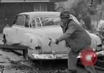Image of men outside houses Sierra Madre California USA, 1954, second 22 stock footage video 65675052625