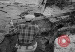 Image of men outside houses Sierra Madre California USA, 1954, second 24 stock footage video 65675052625