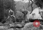Image of men outside houses Sierra Madre California USA, 1954, second 29 stock footage video 65675052625