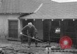 Image of men outside houses Sierra Madre California USA, 1954, second 33 stock footage video 65675052625