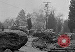 Image of men outside houses Sierra Madre California USA, 1954, second 46 stock footage video 65675052625