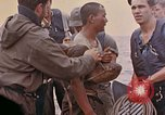 Image of US submarine rescues survivors from Japanese boat Pacific Ocean, 1945, second 17 stock footage video 65675052640