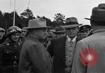 Image of Harry S Truman Berlin Germany Gatow Airport, 1945, second 24 stock footage video 65675052648