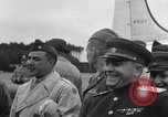 Image of Harry S Truman Berlin Germany Gatow Airport, 1945, second 62 stock footage video 65675052648