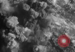 Image of exploding bombs Western Front European Theater, 1943, second 24 stock footage video 65675052656