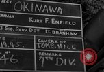 Image of 7th Infantry Division soldiers Okinawa Ryukyu Islands, 1945, second 2 stock footage video 65675052682