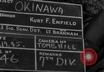 Image of 7th Infantry Division soldiers Okinawa Ryukyu Islands, 1945, second 3 stock footage video 65675052682