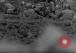 Image of 7th Infantry Division soldiers Okinawa Ryukyu Islands, 1945, second 53 stock footage video 65675052682