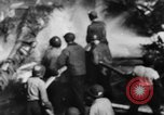 Image of USS Hancock on fire Pacific Ocean, 1945, second 29 stock footage video 65675052932
