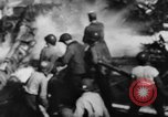 Image of USS Hancock on fire Pacific Ocean, 1945, second 30 stock footage video 65675052932