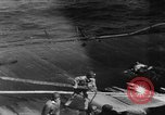 Image of USS Hancock on fire Pacific Ocean, 1945, second 40 stock footage video 65675052932