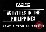 Image of 63rd Regiment Manila Philippines, 1945, second 1 stock footage video 65675052938
