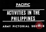 Image of 63rd Regiment Manila Philippines, 1945, second 3 stock footage video 65675052938