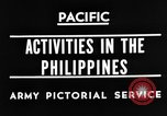 Image of 63rd Regiment Manila Philippines, 1945, second 5 stock footage video 65675052938