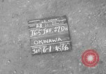 Image of 165th Infantry 27th Division Shima Okinawa Ryukyu Islands, 1945, second 6 stock footage video 65675052951