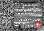 Image of 165th Infantry 27th Division Shima Okinawa Ryukyu Islands, 1945, second 1 stock footage video 65675052953