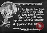 Image of Japanese people Hawaii USA, 1919, second 7 stock footage video 65675052976