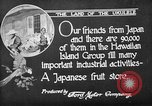 Image of Japanese people Hawaii USA, 1919, second 9 stock footage video 65675052976