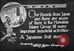 Image of Japanese people Hawaii USA, 1919, second 11 stock footage video 65675052976